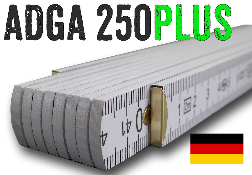 Digitaldruck Zollstock 2m incl 5 Meterstäbe