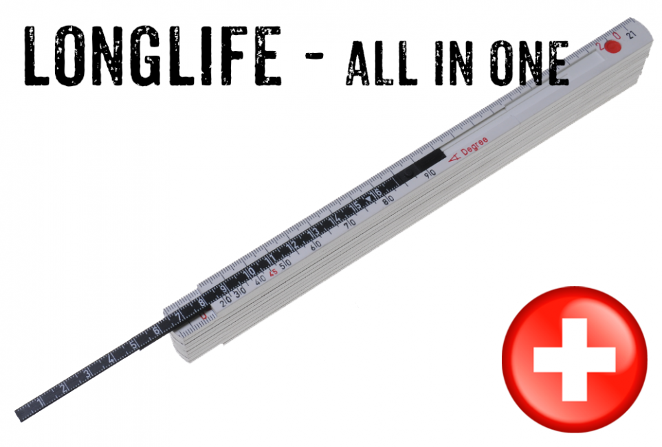 Longlife All in one weiss_Tiefenmass.